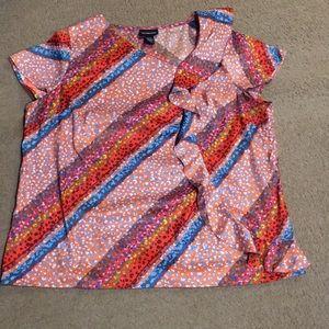18/20 Lane Bryant cap sleeve silky top